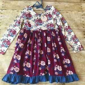 Wildflowers Clothing Royal Waltz Dress NWT 8